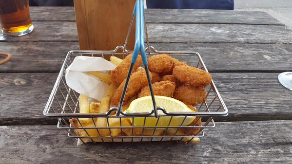 shopping basket scampi