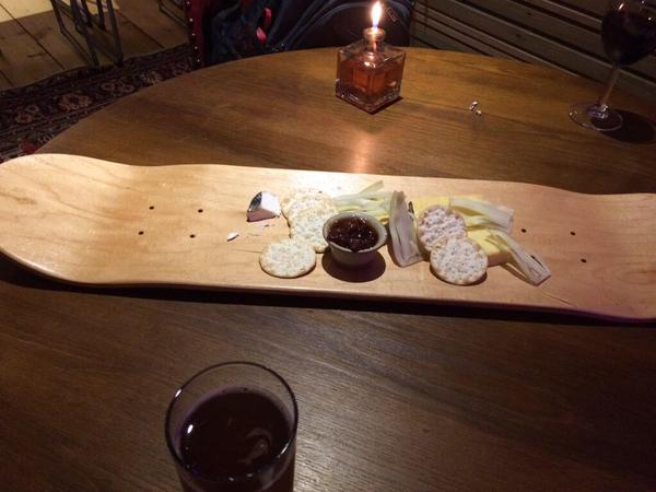 skateboard cheese
