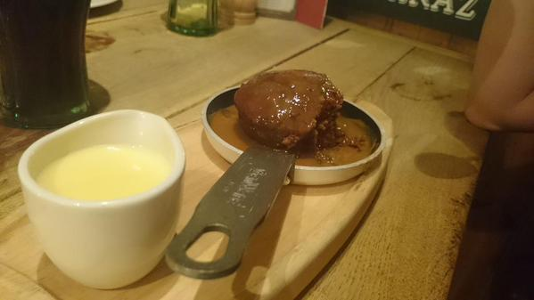 sticky toffee frying pan
